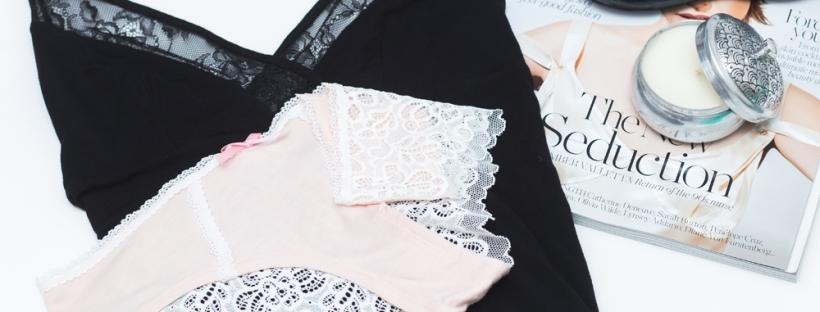 pink lace hipster bikini